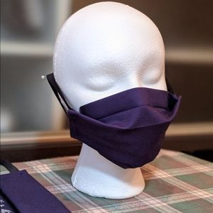 Accessories - Handmade face mask with filter Navy Adult or Kids